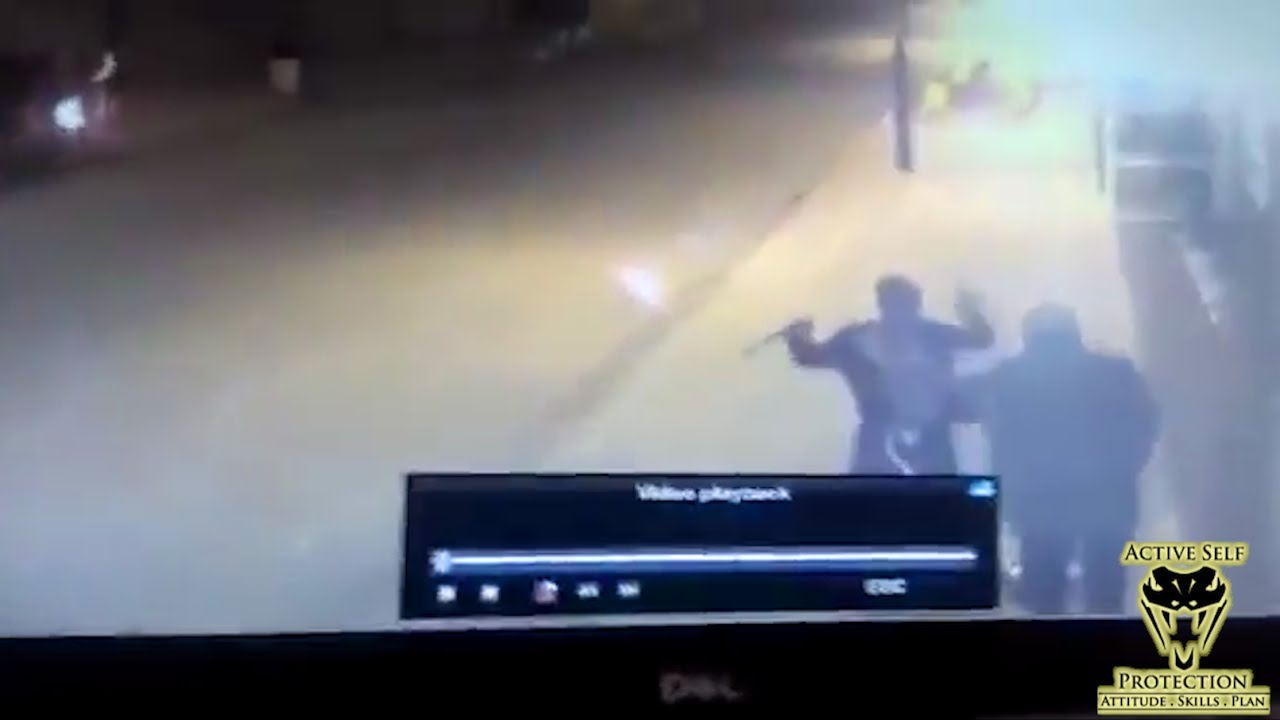 Guard Assaulted Outside House of Worship | Active Self Protection