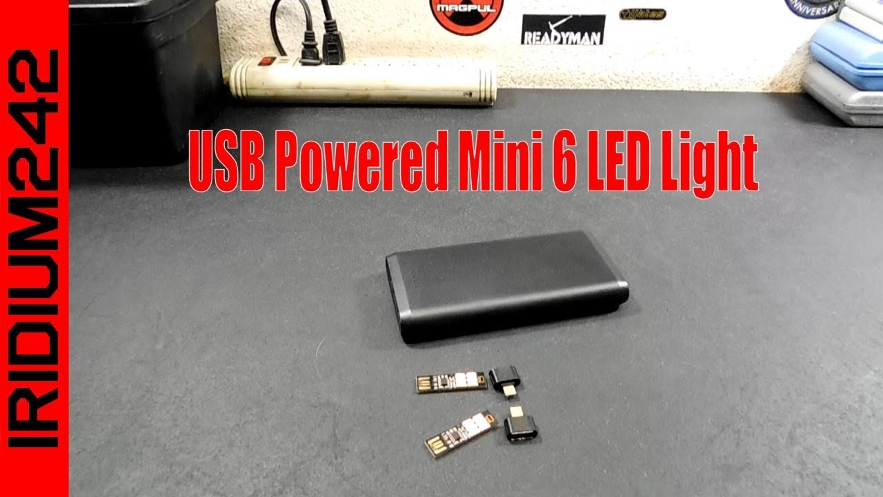 USB Powered Mini 6 LED Light From 80spodcastchannel!
