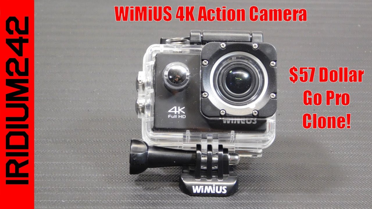 WiMiUS 4K Action Camera!