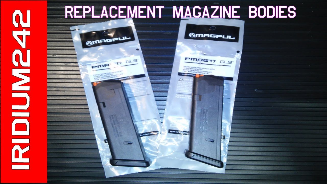 Magpul Glock Replacement Bodies And Mag Labels