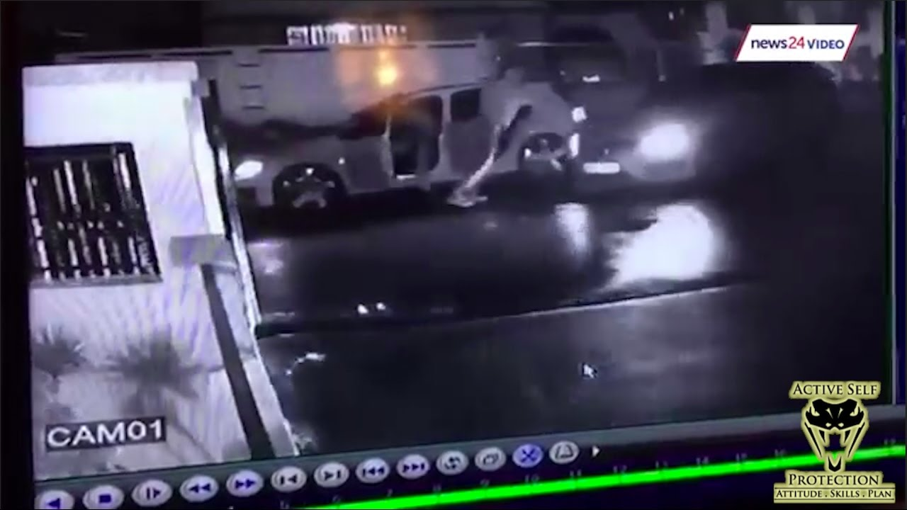 Carjacking Victim Uses His Car to Defend Himself