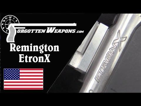 Remington EtronX: Electrically Primed Ammunition