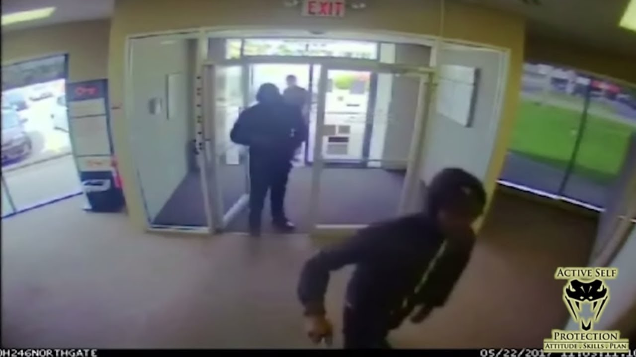 Off Duty Officer Stops Bank Robbery | Active Self Protection