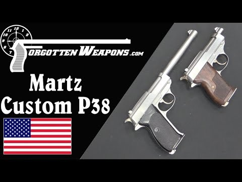 John Martz Custom P38s: Babies, .45s, and .38 Supers