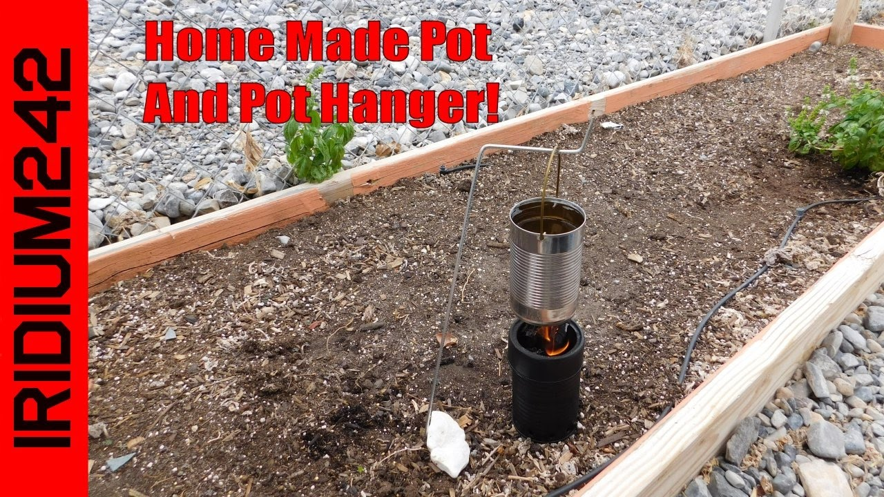 Home Made Cook Pot And Cook Pot Hanger