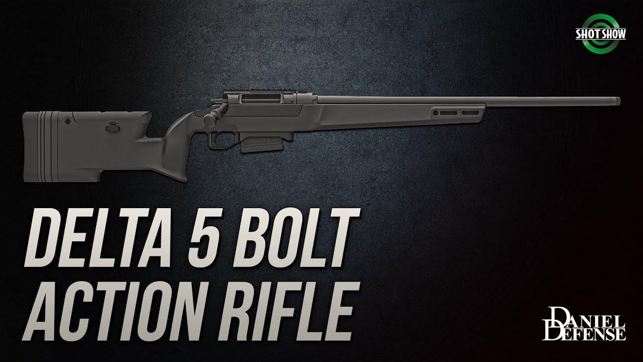 Daniel Defense DELTA 5 Bolt Action Rifle - SHOT Show 2019