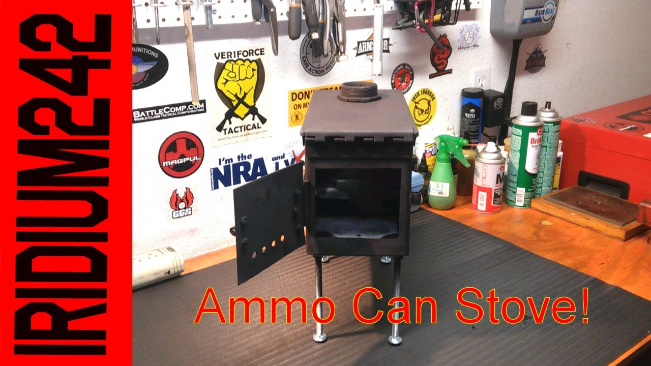 My Ammo Can Stove