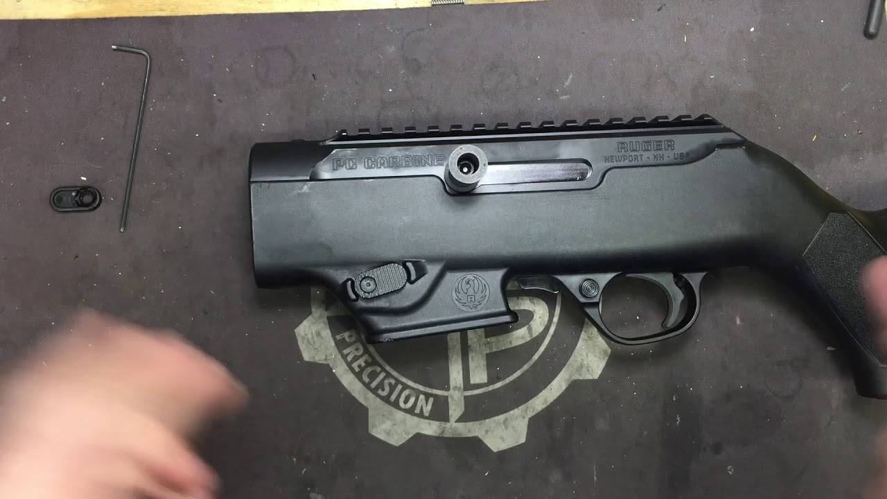 Ruger PC Carbine Extended Mag Release Installation