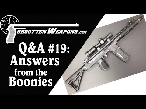 Q&A 19: Answers From The Boonies