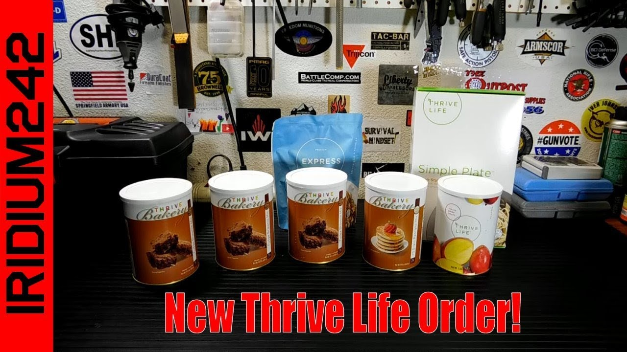 August Thrive Life Order