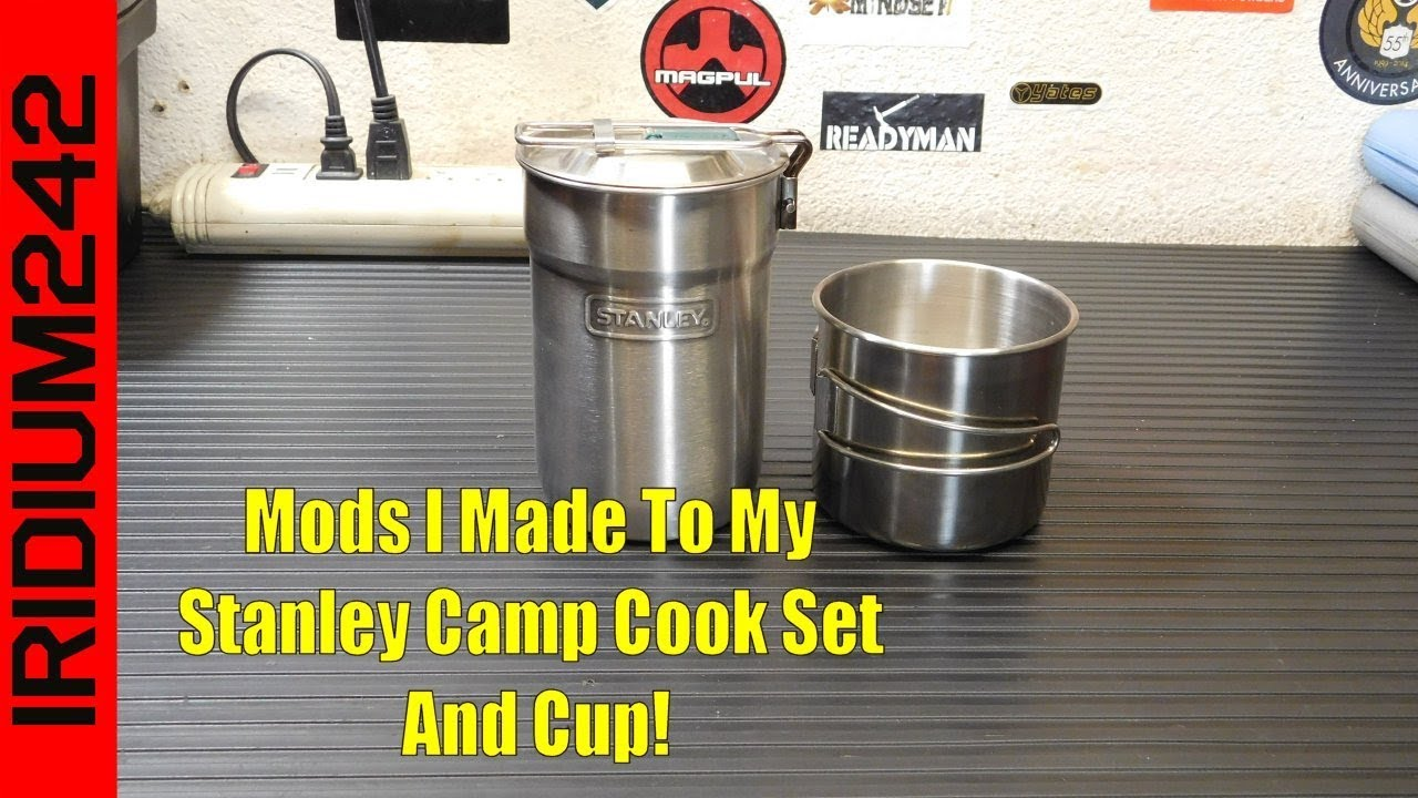 Modifications to my Stanley Camp Cook Set And Cup!
