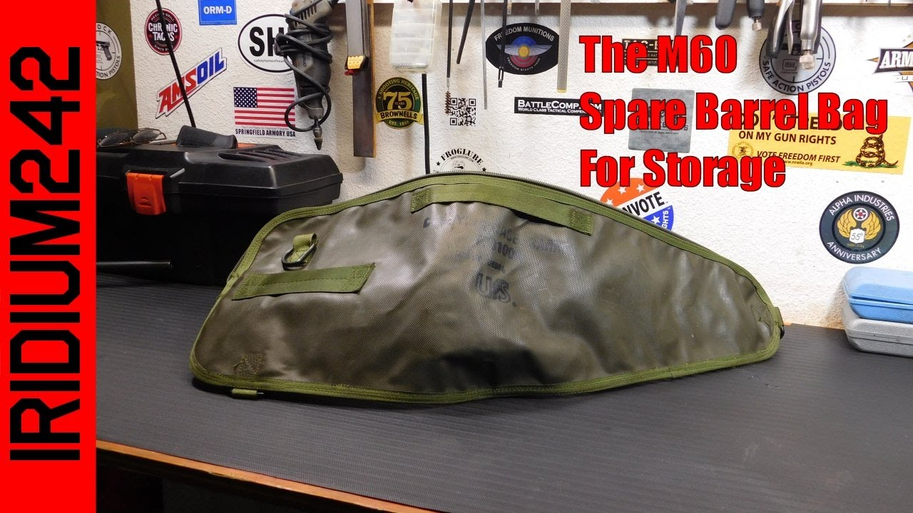 M60 Spare Barrel Bag For Your Truck Gun!