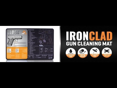 IRON CLAD GLOCK 36 GUN CLEANING MAT