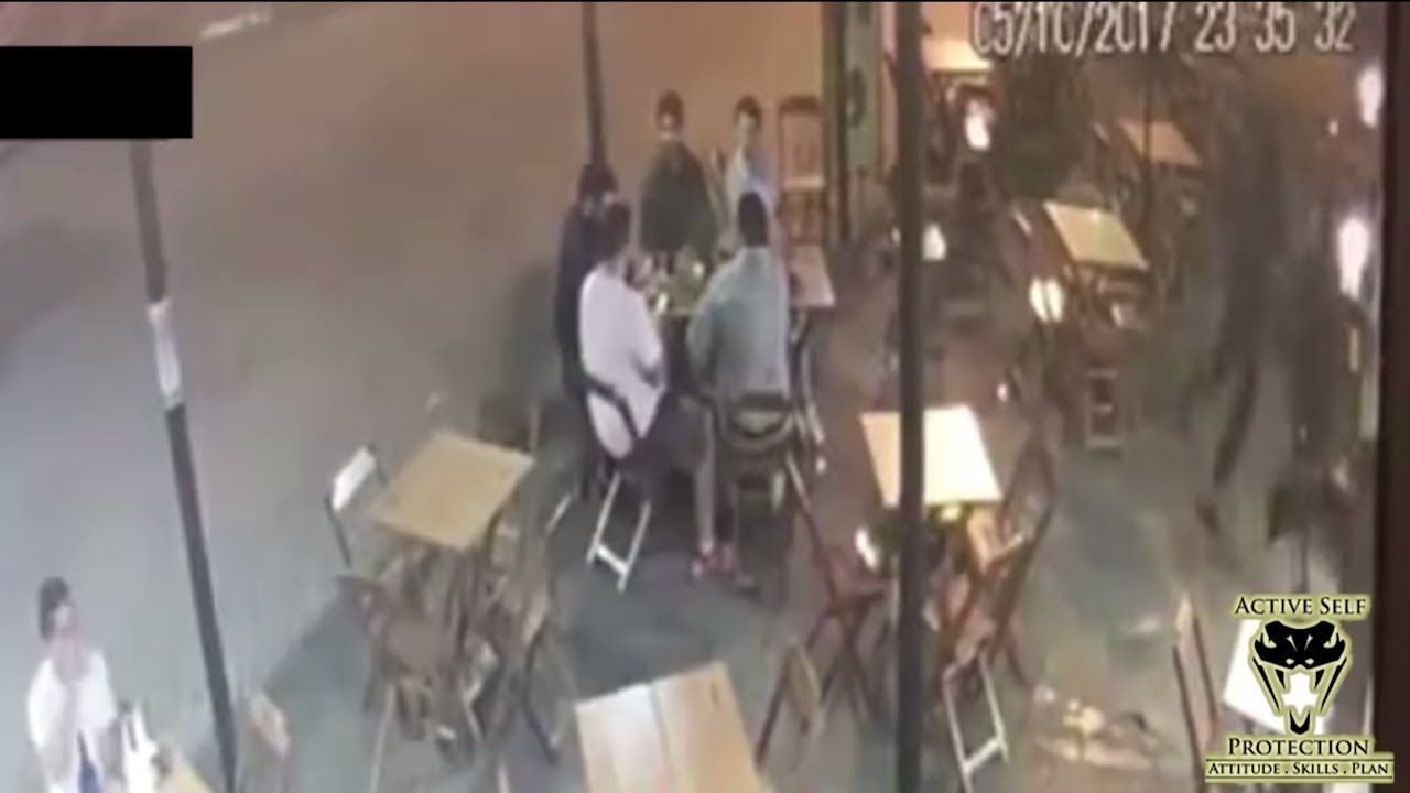 Robbers are no Match for Prepared Bystander   Active Self Protection