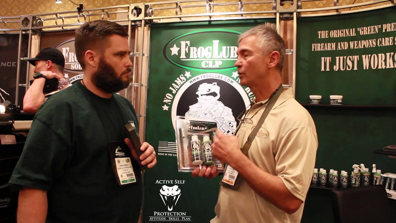 SHOT Show 2015: Froglube Interview with Larry Lasky