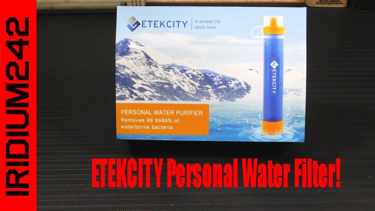 Etekcity Portable Emergency Camping Water Filter