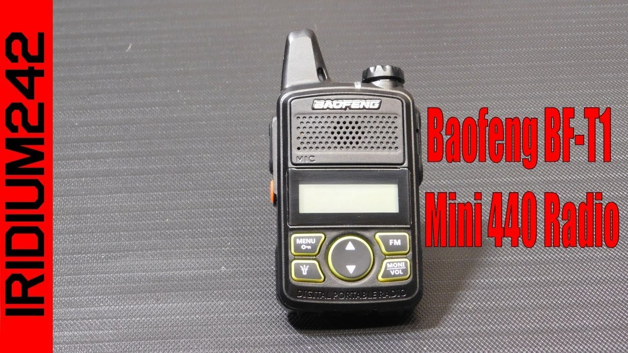 Baofeng BF T1 Mini 440 Radio