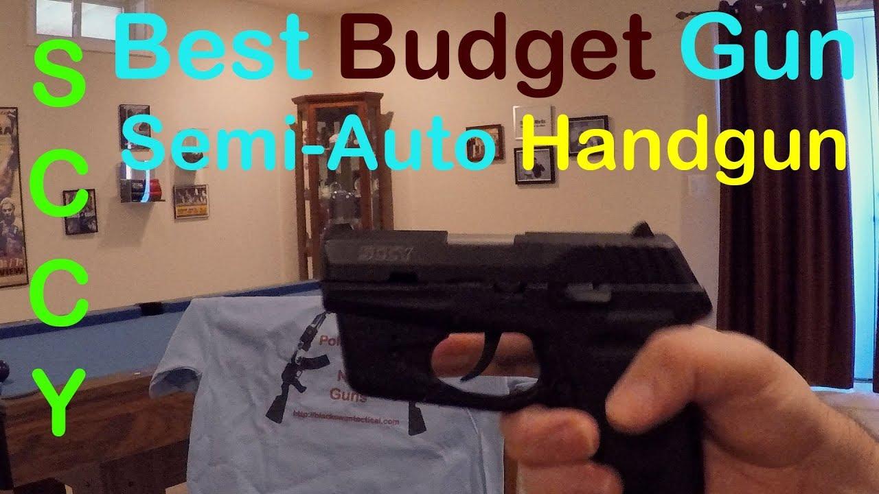 Best Budget Semi-Auto Handgun: SCCY