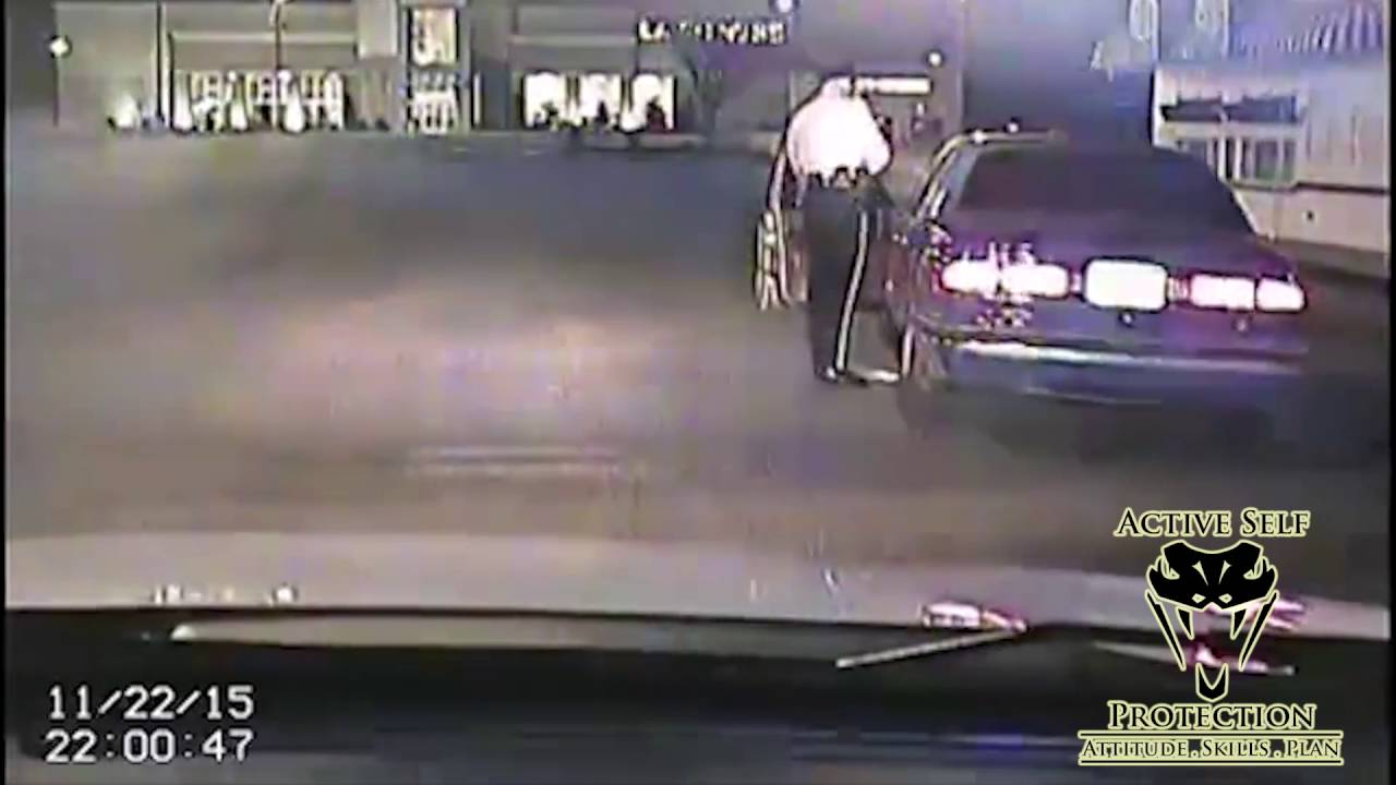 DUI Suspect Tries to Ambush Police Officer