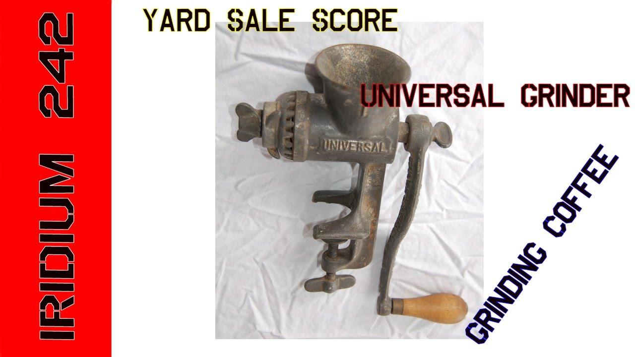 YardSale Prepper Score! Grinding Coffee By Hand