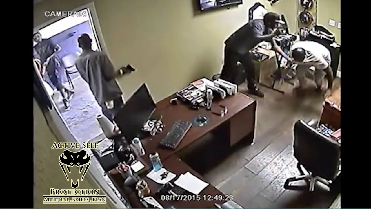 Gunfight Erupts When Armed Robbery Victim Fights Back