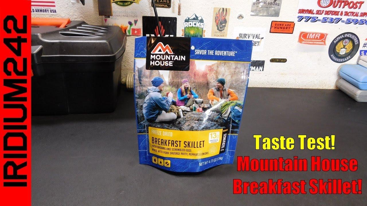 Taste Test: Mountain House Breakfast Skillet