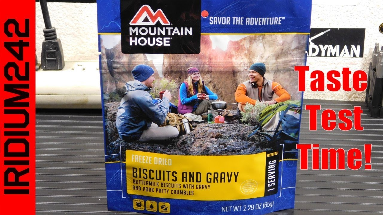 Mountain House Biscuits And Gravy Taste Test