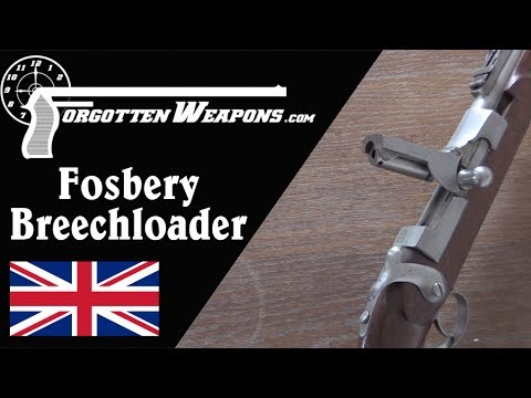 Major Fosbery's Breechloading Prototype Rifle