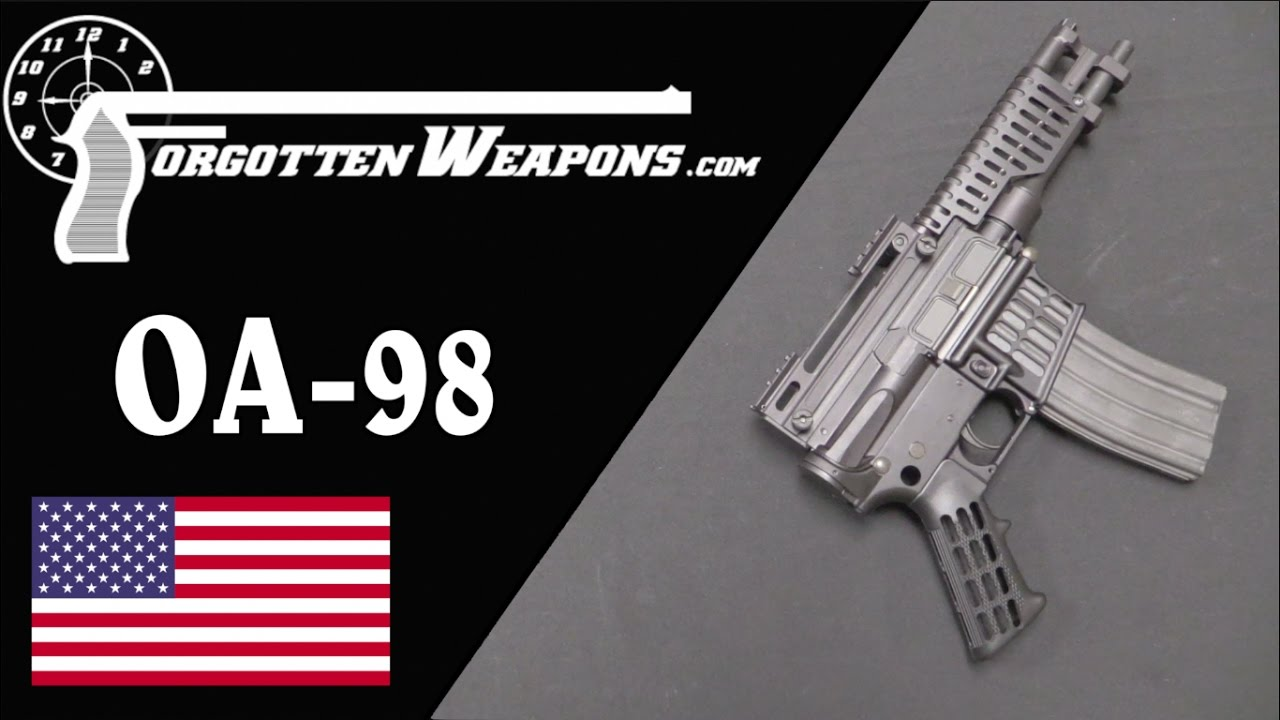 Olympic Arms' OA-98 AR Pistol - A Strange Product of the AWB