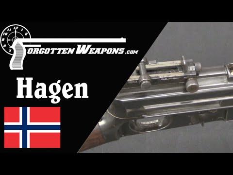 Hagen Prototype Semiauto Rifle