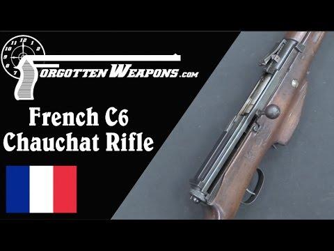 French C6 Long-Recoil Prototype Semiauto Rifle
