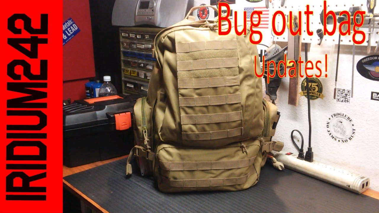 Upgrades to my Bug Out Bag