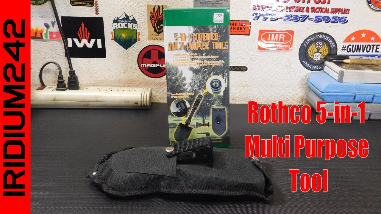Gear Test: Rothco 5 in 1 Multi Purpose Tool