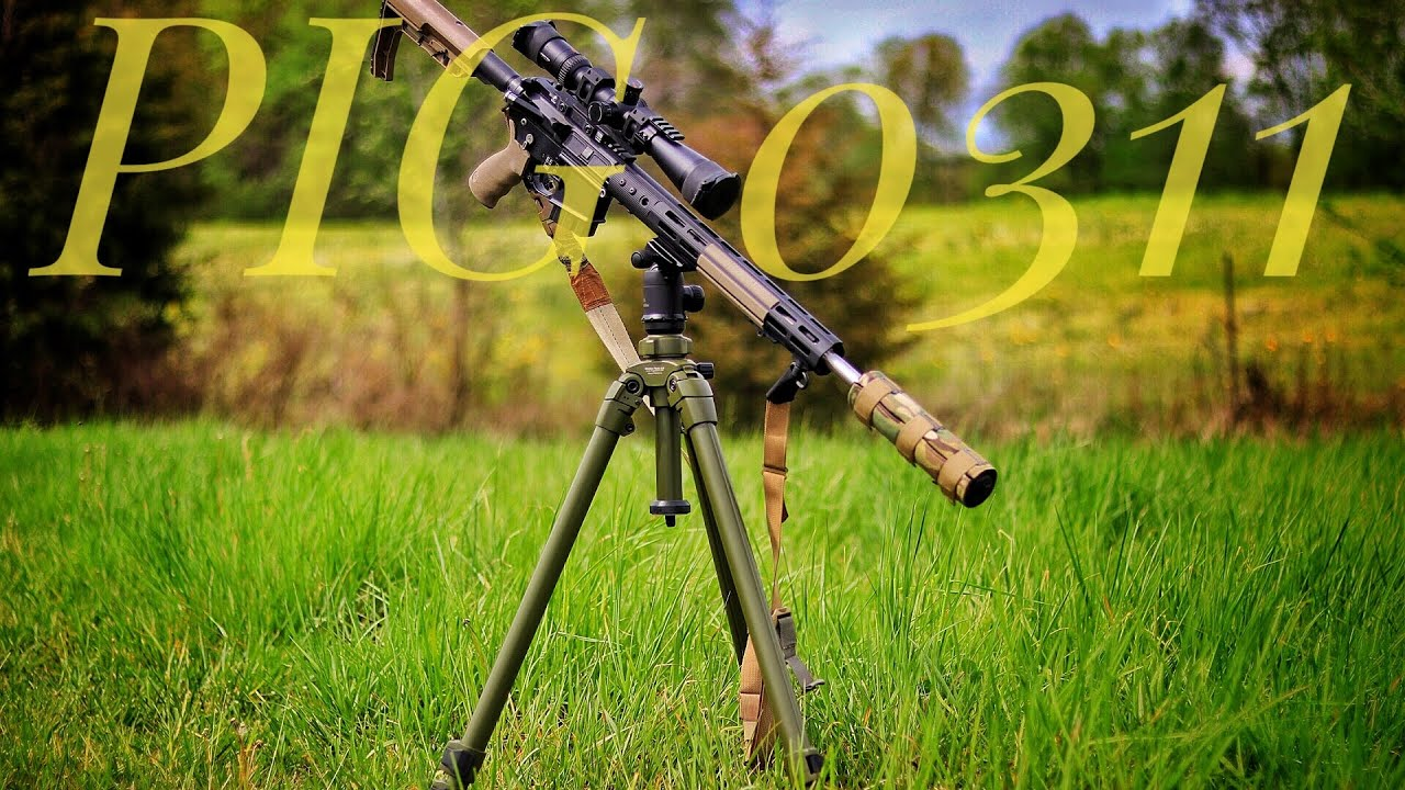 Best Rifle Tripod | PIG 0311