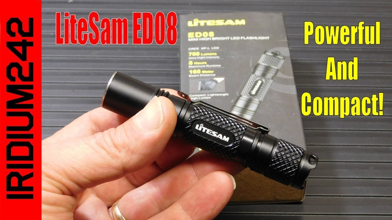 Litesam ED08 700 Lumen EDC Tactical Flashlight