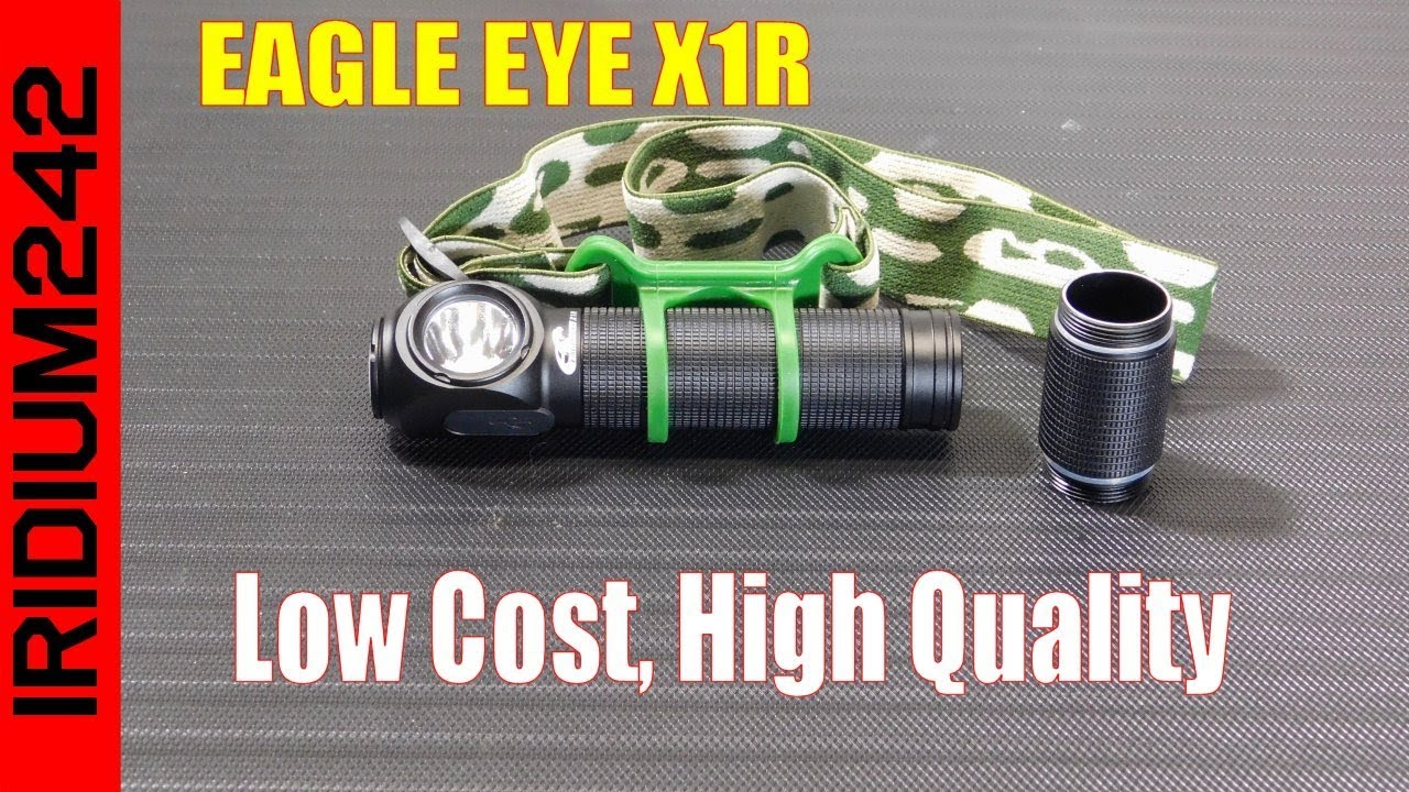 EAGLE EYE X1R LED Flashlight/Headlamp
