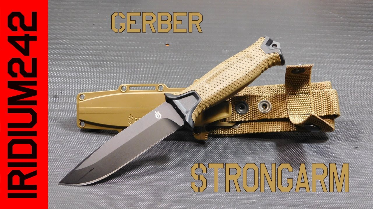 The Gerber StrongArm Knife
