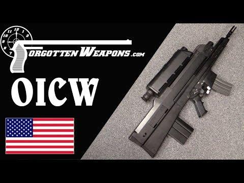 XM29 OICW Mockup