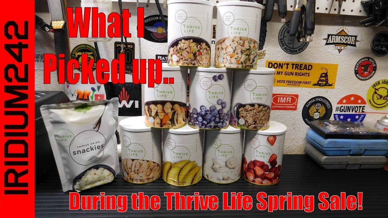 What I Picked Up During The Thrive Life Spring Sale!