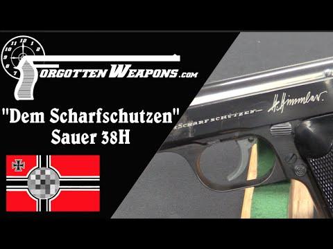 Himmler's Sniper Presentation Sauer 38H Pistol