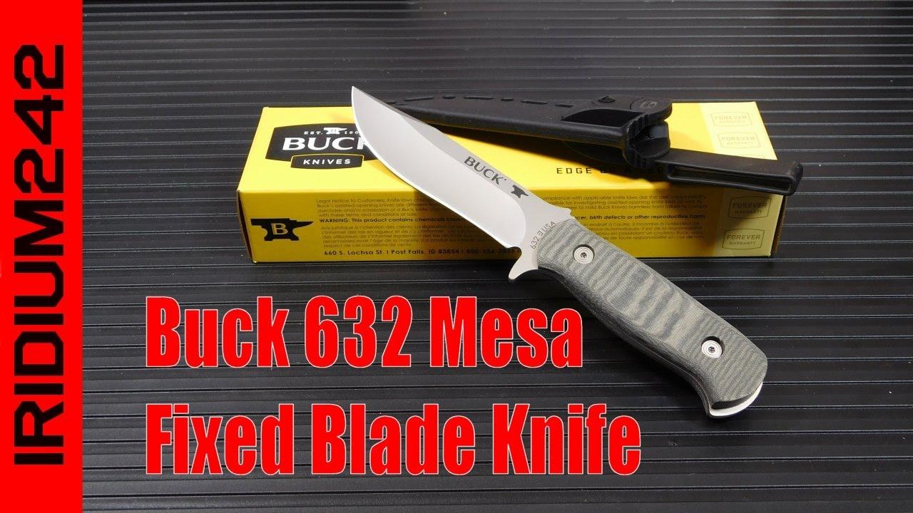 Buck 632 Mesa Fixed Blade Knife
