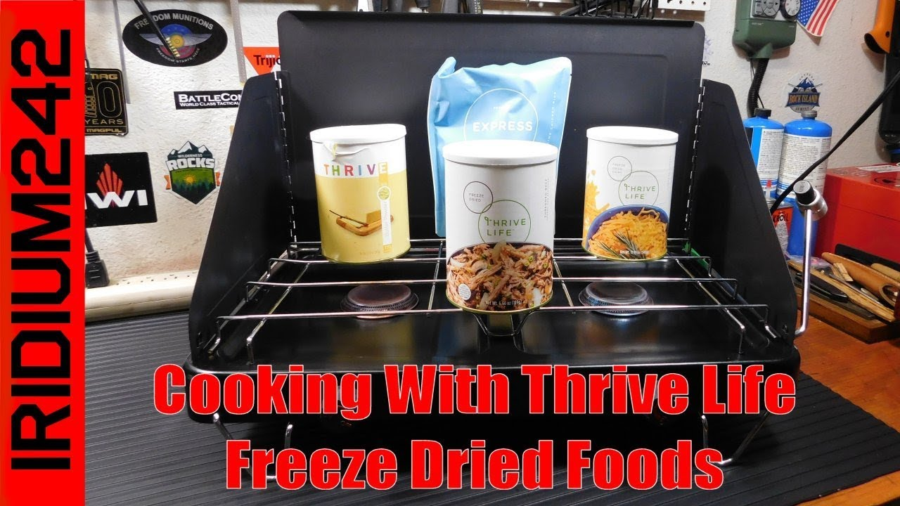 Cooking With Thrive Life Freeze Dried Foods