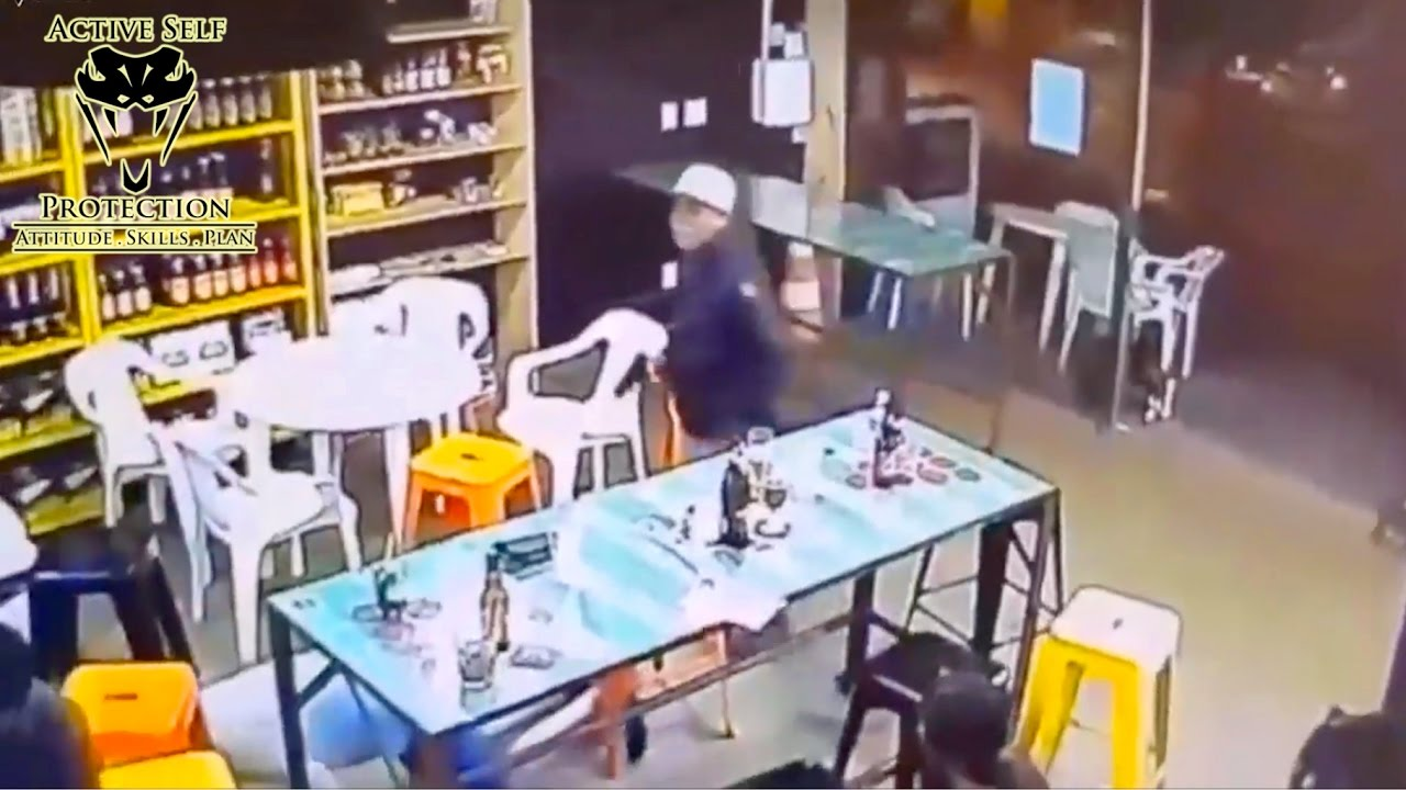 Off Duty Cop Stops Armed Robbery | Active Self Protection