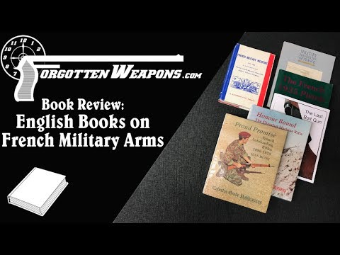 Literature Review: English-Language Books on French Firearms