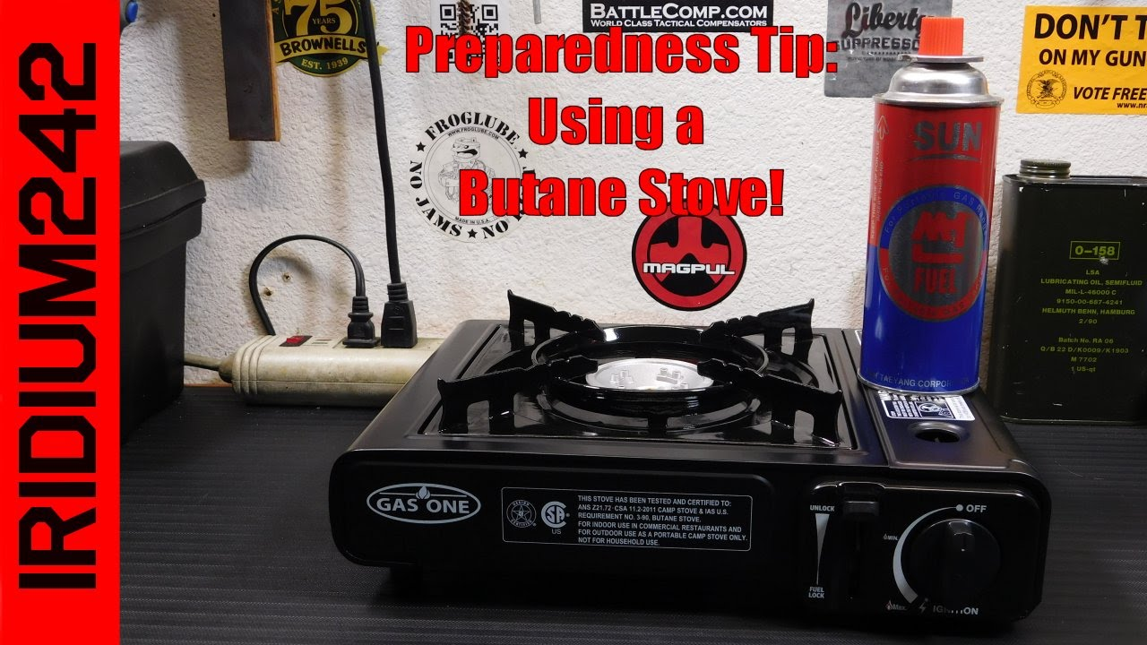 Prep Tip: Cooking With A Butane Stove