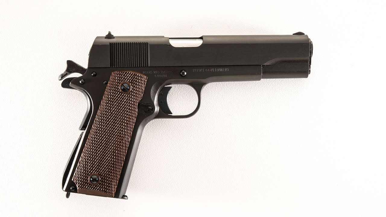 Inland Manufacturing  1911-A1 Range Test