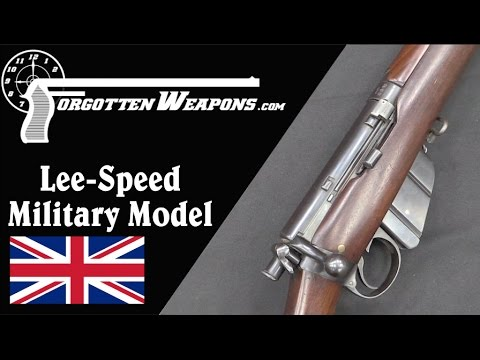 Lee-Speed Military Model Commercial Enfield