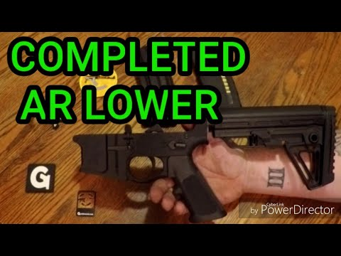 Complete AR  Lower