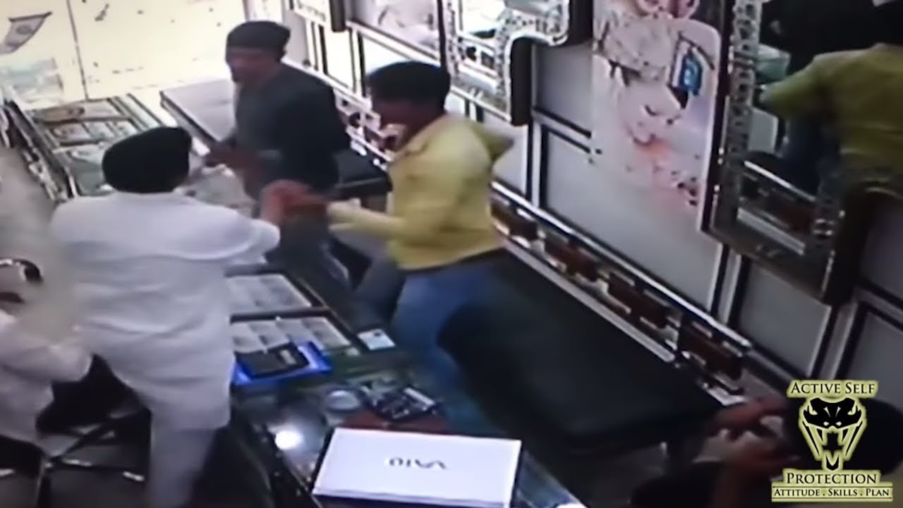 Shopkeepers Turn the Tables on Pathetic Robbers | Active Self Protection