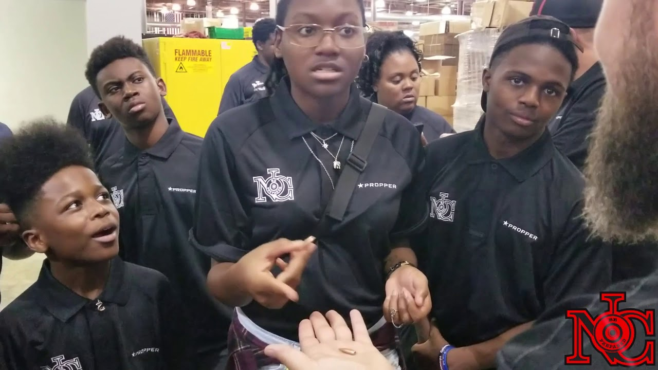 Urban Youth Visit Rifle Manufacturer CMMG (Aiming for the Truth)